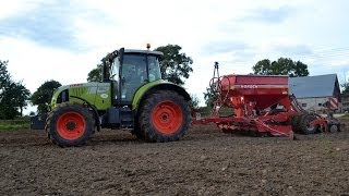 Siew Claas Arion 620c + Horsch Pronto 3dc 2013 [HD]