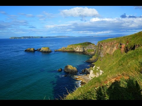 GoPro Hero 4 Black Time Lapse - Northern Ireland, Antrim Coast Road