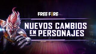 ¡NUEVA Y MEJORADA INTERFAZ DE PERSONAJES! 😱 | Garena Free Fire