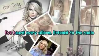 taylor swift-OUR SONG [Karaoke  Instrumental]