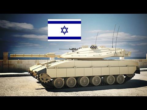 Израильская ветка танков.