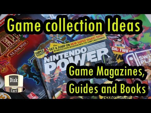 Game collection display ideas! (game magazines, game guides and books)