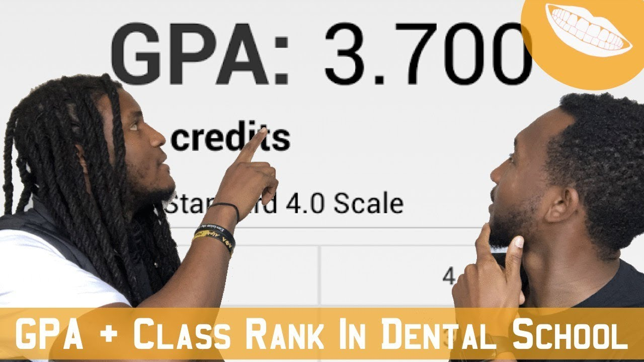 Grades + Class Rank Important In Dental School???    FutureDDS