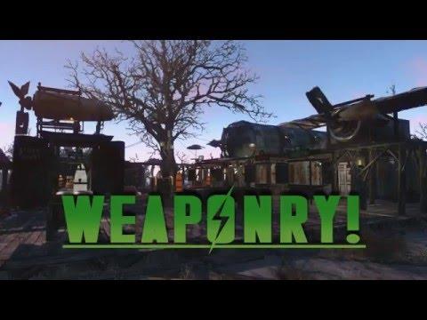 Weaponry!