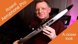 Roland Aerophone Pro AE 30 A closer look