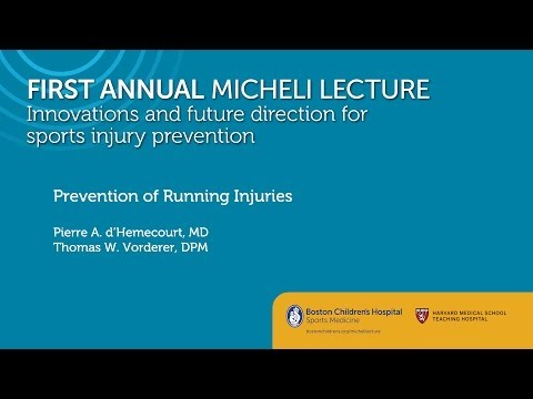 Prevention of Running Injuries - Sports Medicine Division - Boston Children's Hospital