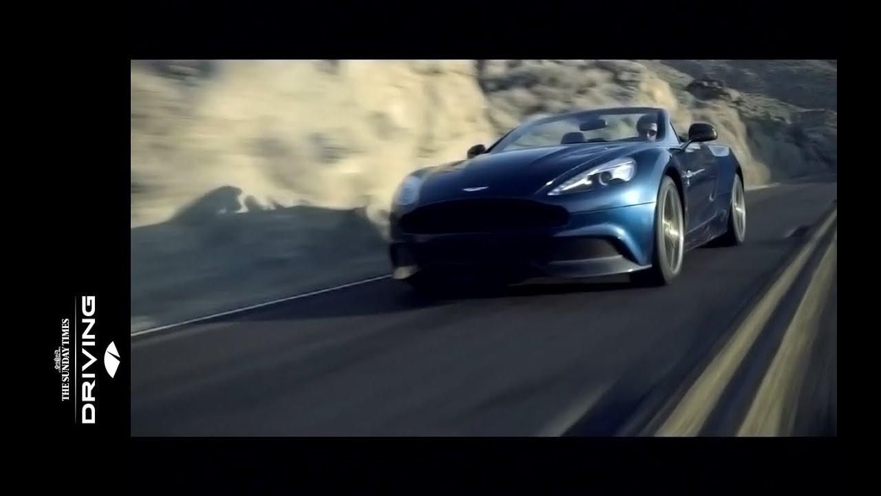 Aston Martin Vanquish Volante Official Trailer Youtube