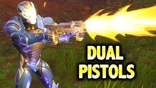 LEGENDARY DUAL PISTOLS DUO VICTORY! (Fortnite Battle Royale)