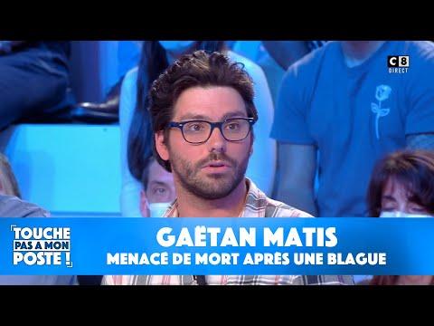 L'humoriste Gaëtan Matis