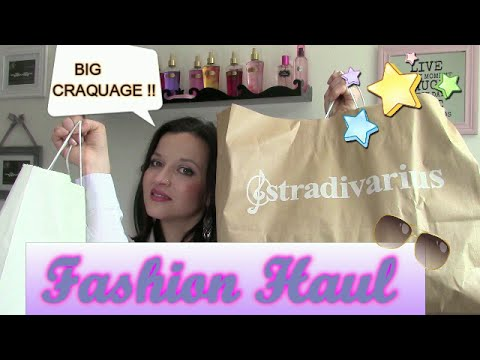 FASHION HAUL ♥ : Stradivarius, Mim, Tropéziennes, Blooshop...Big Craquage !!