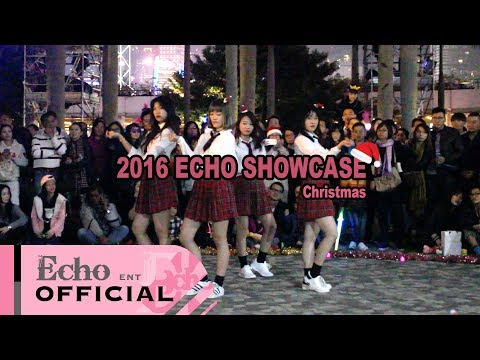 EchoDanceHK 2016 Christmas Show #4 Blackpink - Playing with Fire
