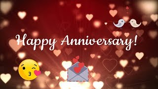 Download & share this romantic happy wedding anniversary video filled with passionate hearts, sweet singing birds love balloons. the most delicate way to c...