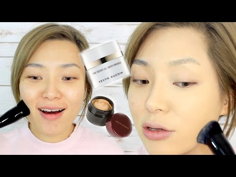 NEW Kevyn Aucoin Sensual Skin Primer & Foundation First Impressions Review
