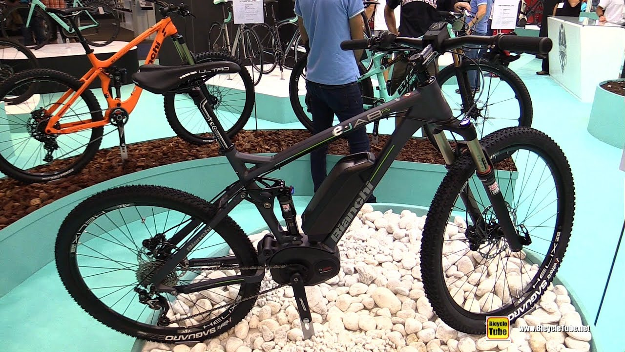 2016 Bianchi e-Jab FS SLX 10sp Electric Bike - Walkaround - 2015 ...