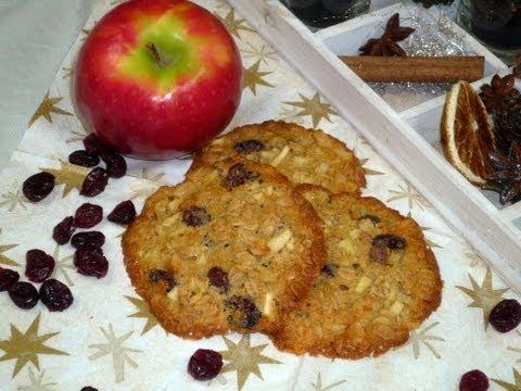 Cranberry Apfel Cookies (Cranberry Apple Cookies)