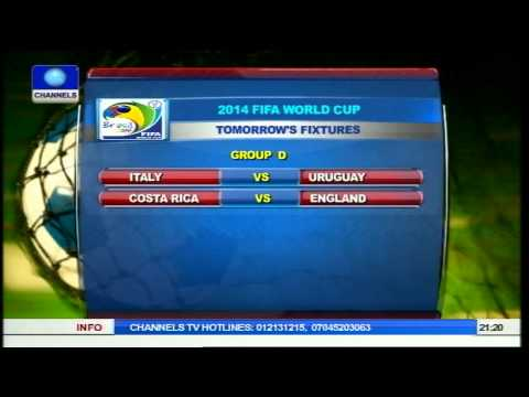 Brazil 2014 world cup results,fixtures,standings and analysis pt.2