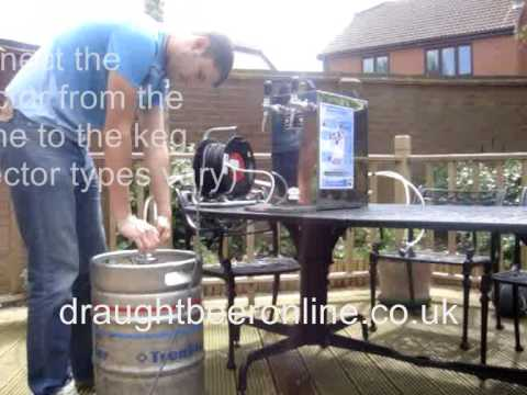 Portable Draught Beer Dispenser You