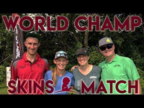 2017 St Jude Skins Match - Paige Pierce, Val Jenkins, Nate Doss, Ricky Wysocki - Ledgestone Ins Open