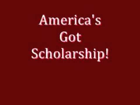 New Show:  America's Got Scholarship!