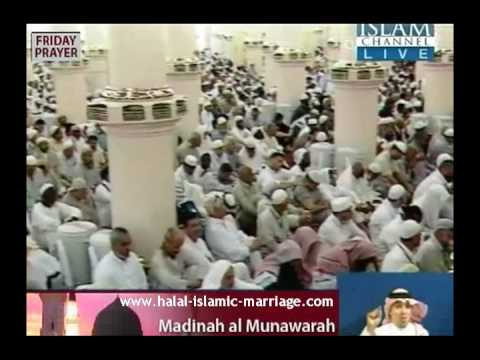 Medina Khutba about Relation between Husband and Wife Islam www.halal-islamic-marriage.com Part 2