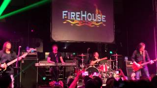 Firehouse when I look into your eyes live  in Singapore 2014