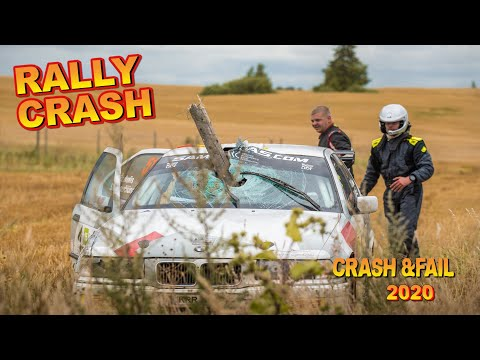 Compilation rally crash
