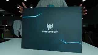 Unboxing the Predator Triton 700