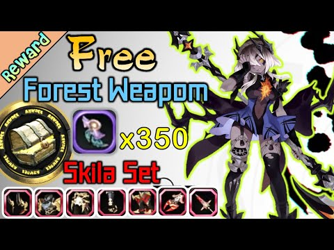 Free Forest Weapon . Skila Set / Mission Box Special Method  / DragonNest SEA