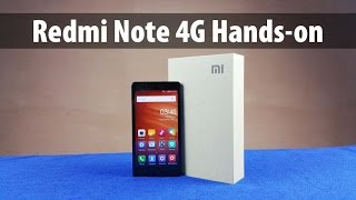 Xiaomi Redmi Note 4G Unboxing & Full Review