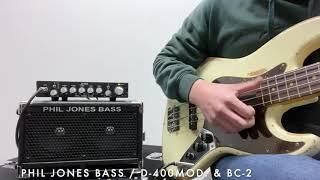 【Phil Jones Bass】D-400Mod.&BC-2サウンドサンプル【MUSIC LAND KEY】