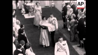 CROWN PRINCESS ALEXIA BAPTISM  - NO SOUND