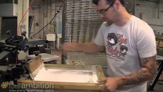 HOW TO: Poster print with Four Ambition