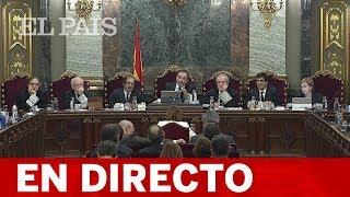 DIRECTO JUICIO DEL 'PROCÉS' | SANTAMARÍA, TARDÀ, MAS, y MONTORO testifican