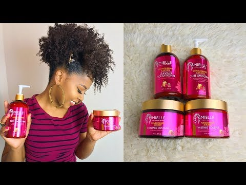 Easy Natural Hairstyle Feat. Mielle Organics