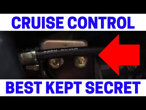 How To Fix Your Toyota Cruise Control Problem - YouTube