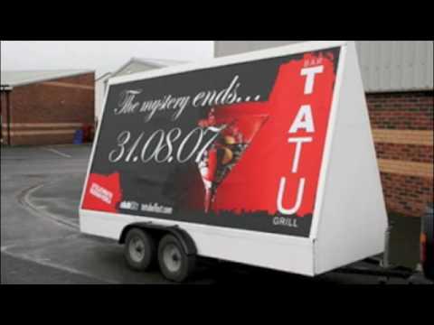 Mobile Outdoor Advertising Billboard Trailer Media YouTube