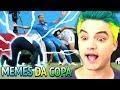 MELHORES MEMES DA COPA - TITE E NEYMAR CAÍRAM!