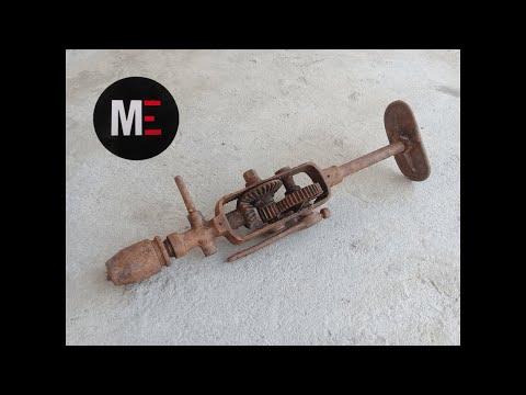 Restauración taladro antiguo /old dril restoration