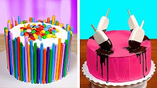 CAKE BATTLE || Sweetest Dessert Recipes And Food Ideas With Chocolate, Ice Cream And Candy