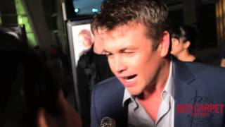 Luke Hemsworth at the LA Premiere of Kill Me Three Times #KillMeThreeTimes Interview
