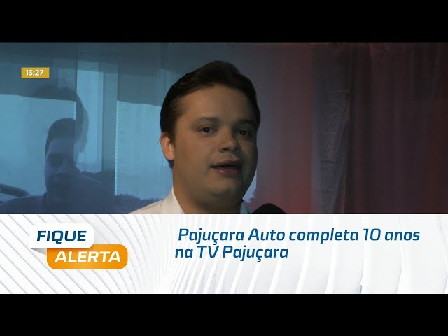 Pajuçara Auto completa 10 anos na TV Pajuçara