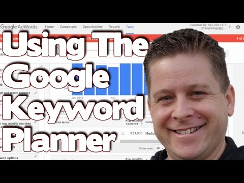 How To Use Google Keyword Planner | Tutorial 2017