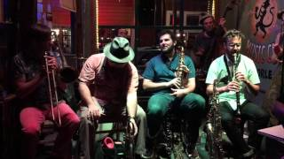 Smoking Time Jazz Club 31st Street Blues live Spotted Cat New Orleans Oct 2015