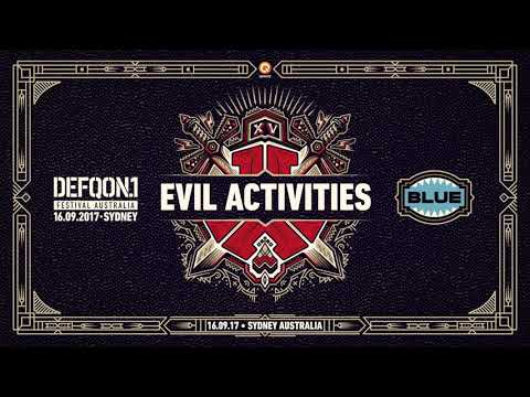 The Colours of Defqon.1 Australia | BLUE Hardcore mix by Evil Activities