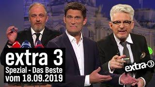 Extra 3 Spezial: Das Beste vom 18.09.2019