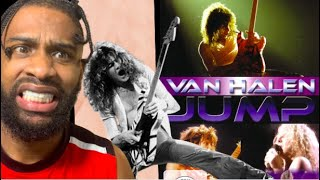 FIRST TIME HEARING Van Halen Jump Official Music Video REACTION