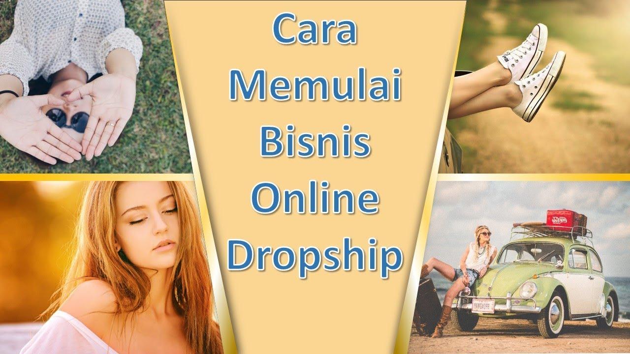 Berikut 5 Cara Memulai Bisnis Online Dropship - YouTube