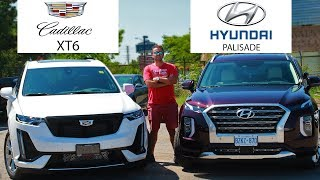 2020 Cadillac XT6 Sport VS 2020 Hyundai Palisade Ultimate | Great 7 Passenger SUVs For The Money?