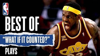 Best What If It Counted Plays   NBA History Part 1️⃣