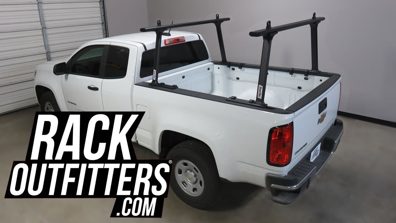 Chevrolet Colorado With Tracrac Tracone Truck Bed Rack In